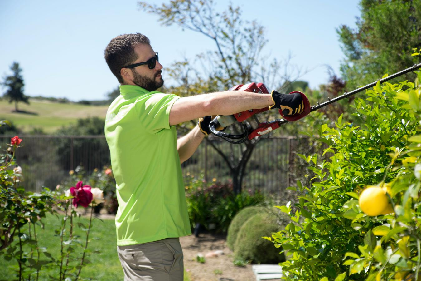Improved life of lawn pros through smartly leveraged technology
