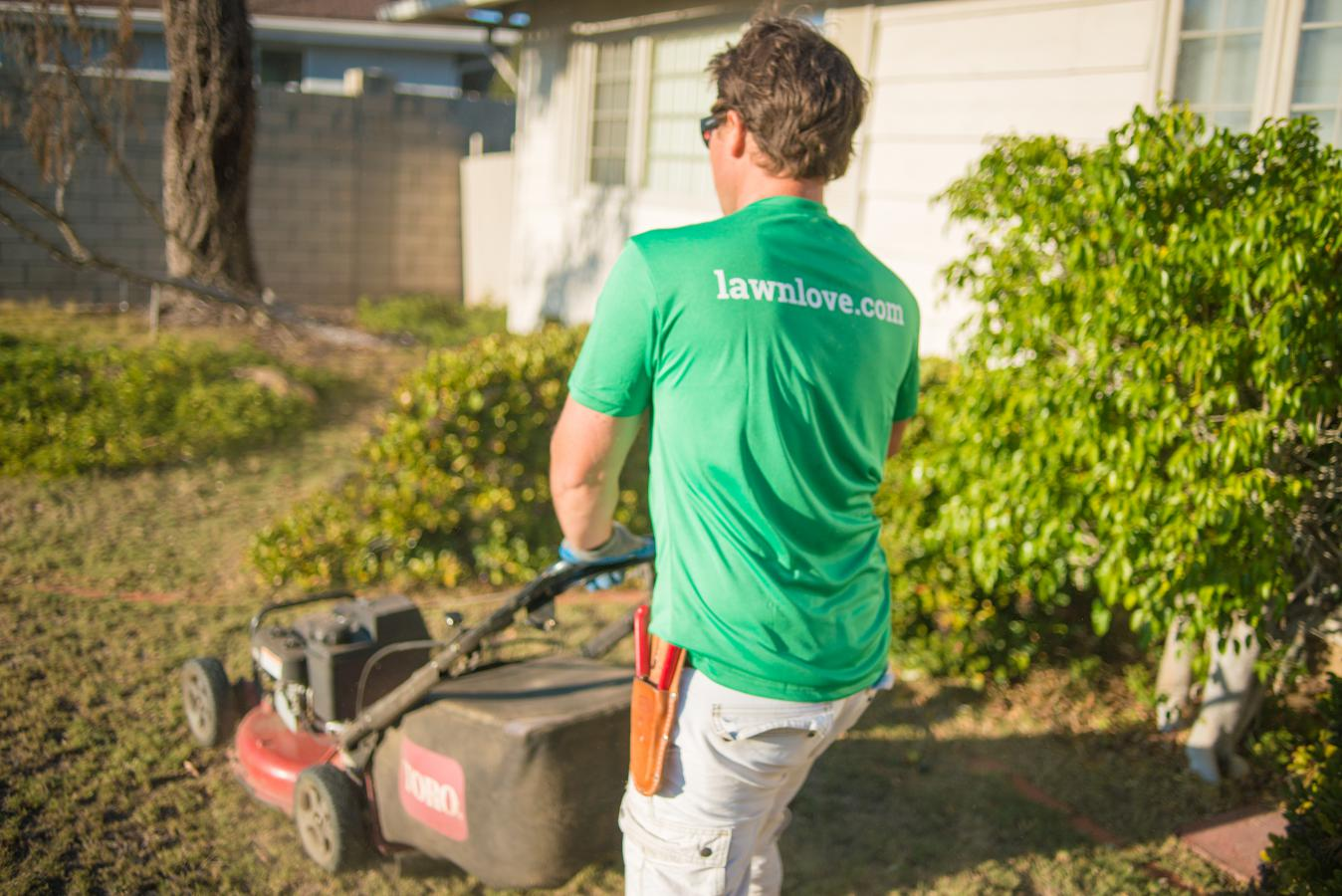A digital marketplace for lawn care and gardening services
