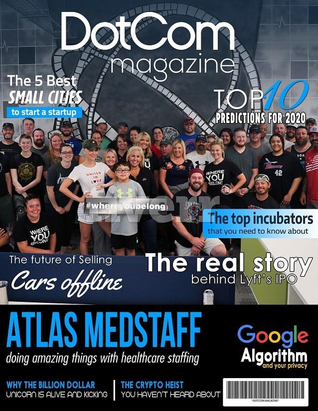Atlas Medstaff Cover Story