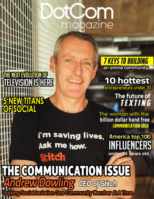 Andrew Dowling Cover Story