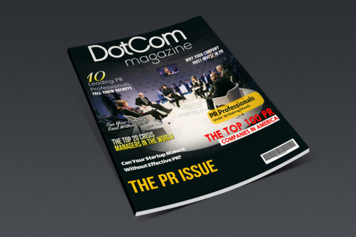 DotCom Magazine The PR Issue
