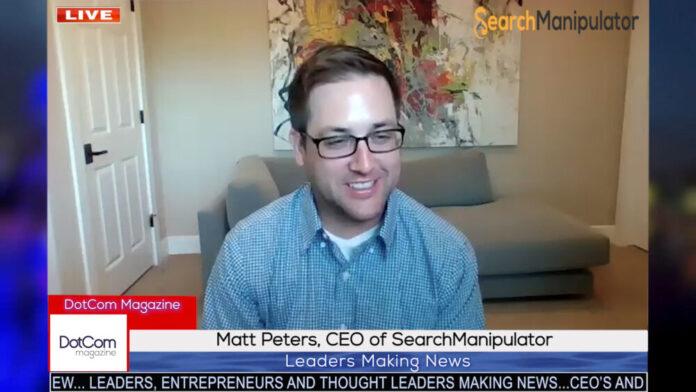Matt Peters_ CEO of SearchManipulator