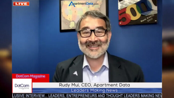 Rudy Mui, CEO, Apartment Data Services, A DotCom Magazine Exclusive Interview