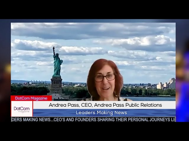 Andrea Pass, CEO of Andrea Pass Public Relations