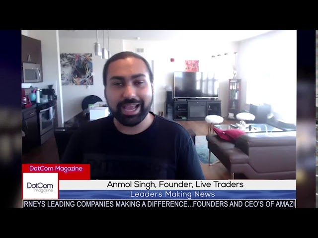 Anmol Singh, Founder, Live Traders