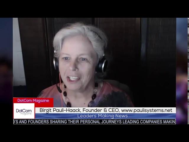 Birgit Pauli-Haack, Founder & CEO Pauli Systems