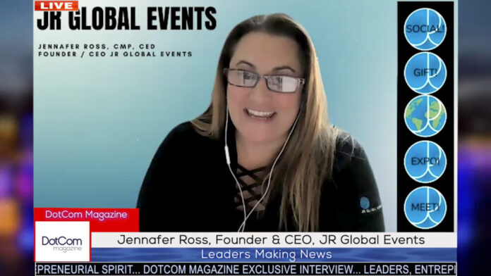 Jennafer Ross, Founder & CEO, JR Global Events