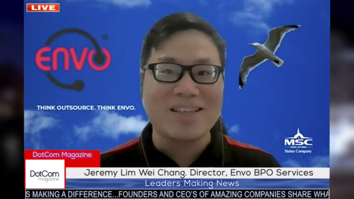Jeremy Lim Wei Chang, Director, The Envo BPO Services