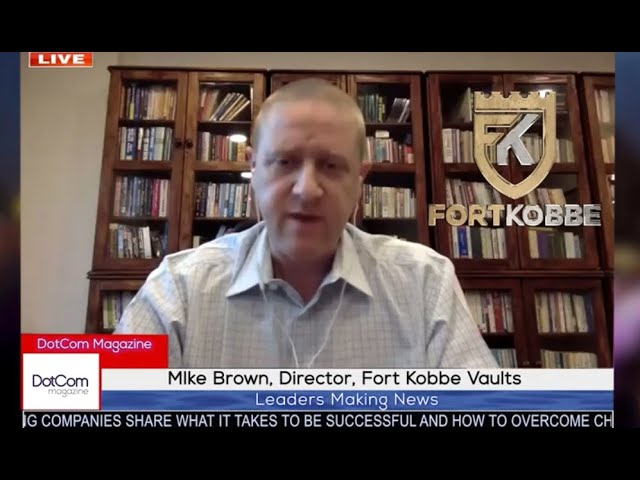 Mike Brown, Director, Fort Kobbe, International Vaults