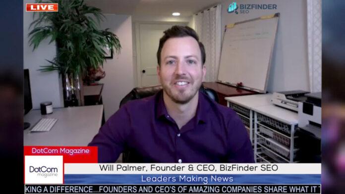 Will Palmer, Founder & CEO, BizFinder SEO
