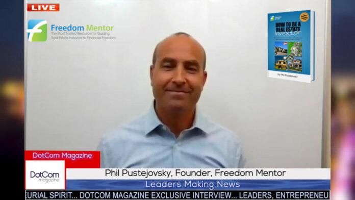 Phil Pustejovsky, Founder, Freedom Mentor
