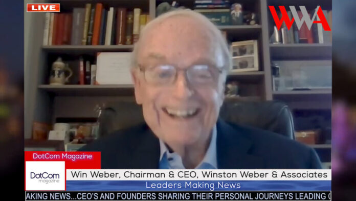 Win Weber, Chairman and CEO, Winston Weber and Associates1